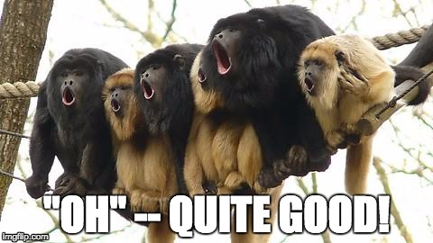 """Oh""... Nice Vowel Shape 