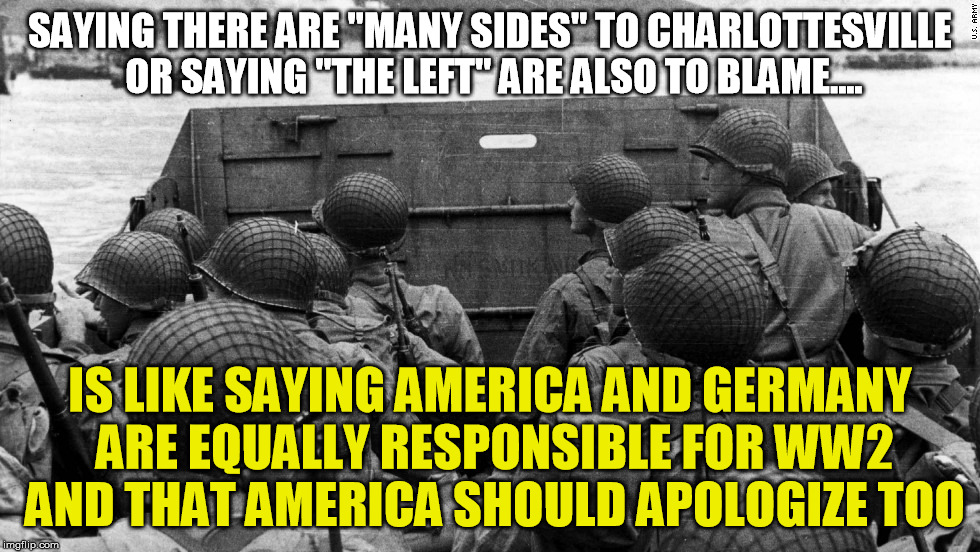 "no, ""the left"" are not equally responsible for the hate 