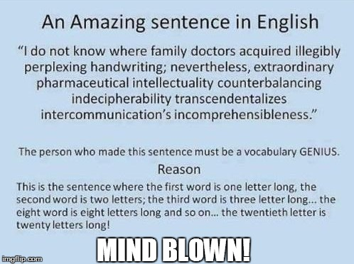 ENGLISH 301 | MIND BLOWN! | image tagged in funny | made w/ Imgflip meme maker