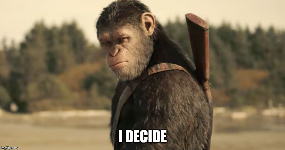 I DECIDE | made w/ Imgflip meme maker