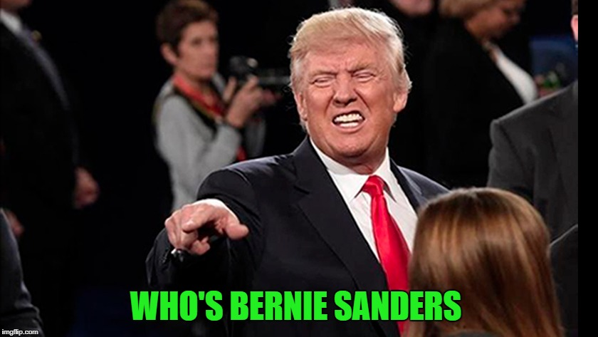 WHO'S BERNIE SANDERS | made w/ Imgflip meme maker