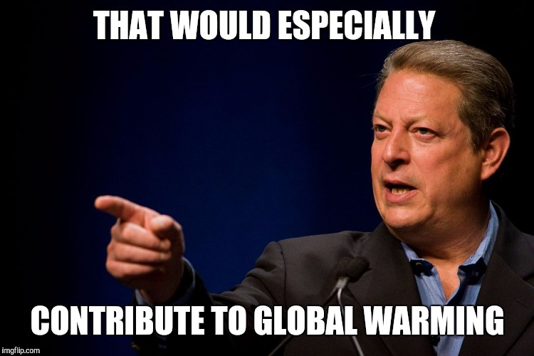 Memes, Al Gore | THAT WOULD ESPECIALLY CONTRIBUTE TO GLOBAL WARMING | image tagged in memes,al gore | made w/ Imgflip meme maker