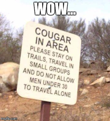 A great sign. | WOW... | image tagged in funny,memes,warning sign | made w/ Imgflip meme maker