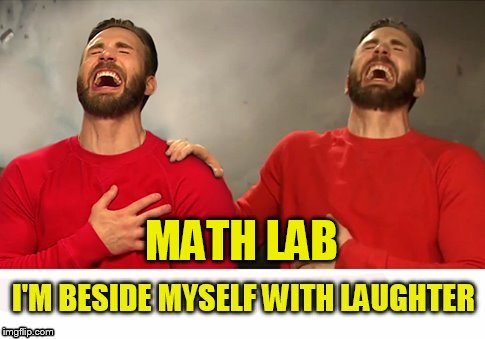 MATH LAB | made w/ Imgflip meme maker