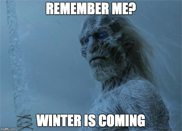 REMEMBER ME? WINTER IS COMING | image tagged in winter selfie | made w/ Imgflip meme maker