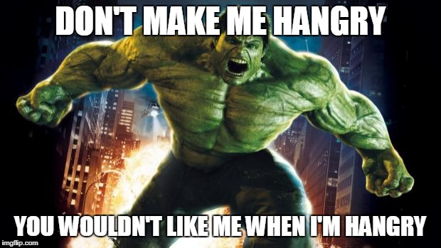 1u50bf don't make me hangry imgflip