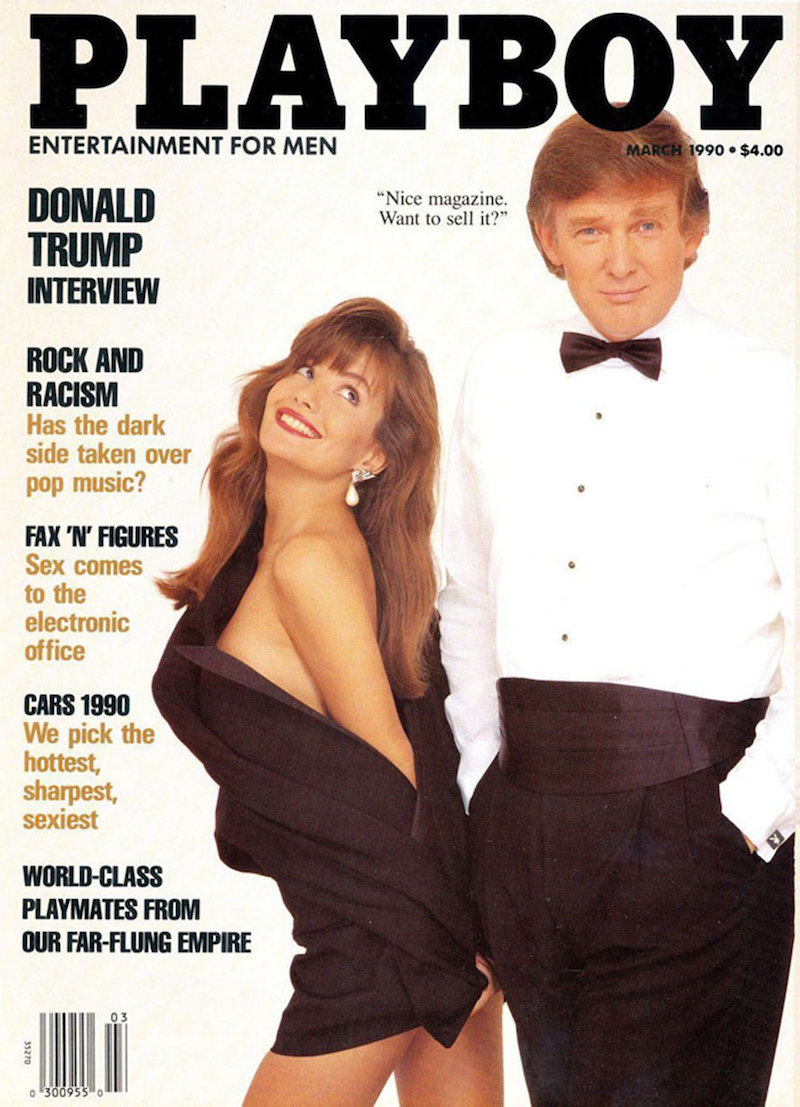 Trump Playboy Cover Template