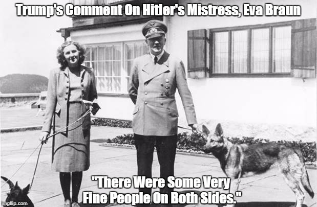 """Trump's Comment On Hitler's Mistress, Eva Braun"" 