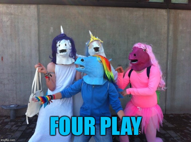 FOUR PLAY | made w/ Imgflip meme maker