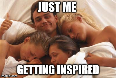 Foursome | JUST ME GETTING INSPIRED | image tagged in foursome | made w/ Imgflip meme maker