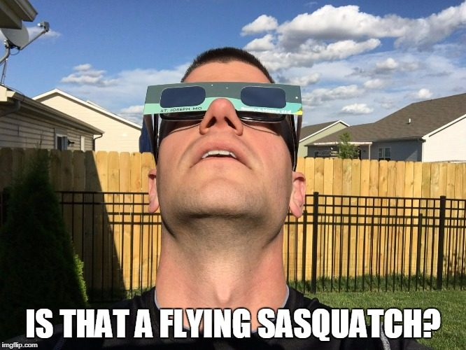 IS THAT A FLYING SASQUATCH? | made w/ Imgflip meme maker