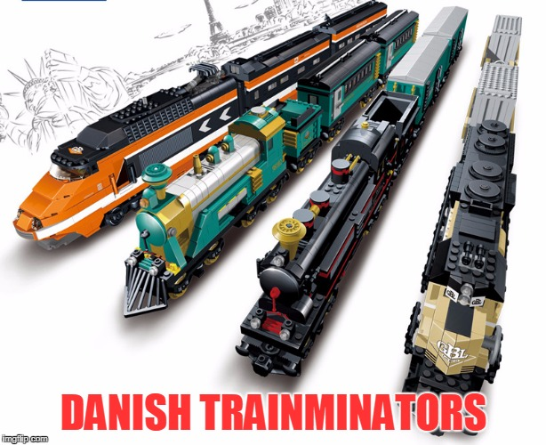 DANISH TRAINMINATORS | made w/ Imgflip meme maker