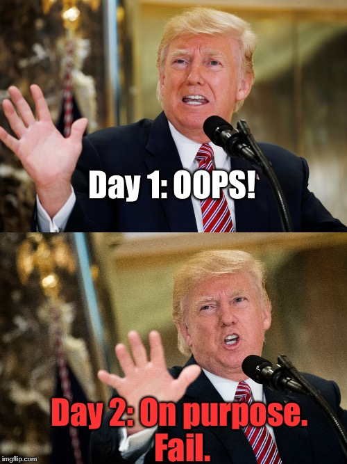 "...And This IS Giving Him ""The Benefit Of Doubt:"" 
