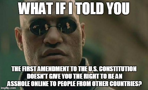 """Freedom of Speech"" 