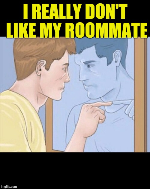 I REALLY DON'T LIKE MY ROOMMATE | made w/ Imgflip meme maker