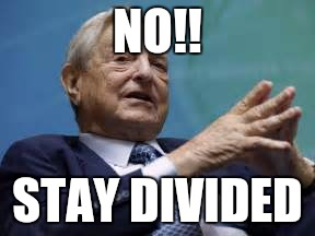 NO!! STAY DIVIDED | made w/ Imgflip meme maker