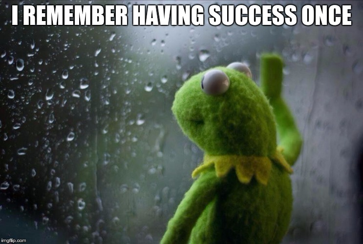 I REMEMBER HAVING SUCCESS ONCE | made w/ Imgflip meme maker