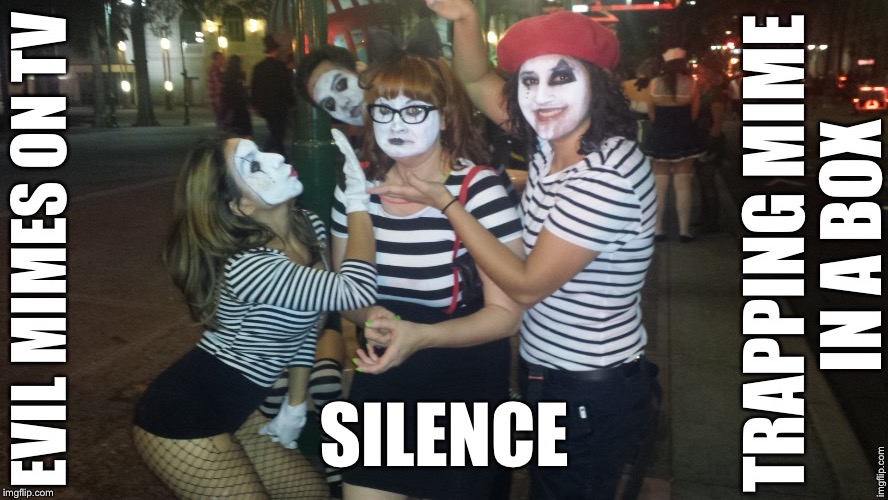 SILENCE | made w/ Imgflip meme maker