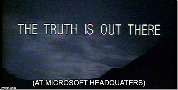 (AT MICROSOFT HEADQUATERS) | made w/ Imgflip meme maker