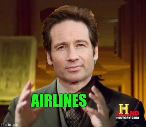 Fox Aliens | AIRLINES | image tagged in fox aliens | made w/ Imgflip meme maker