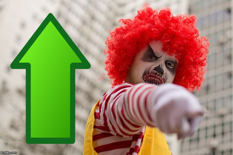 Dangerous clown Ronald | image tagged in dangerous clown ronald | made w/ Imgflip meme maker
