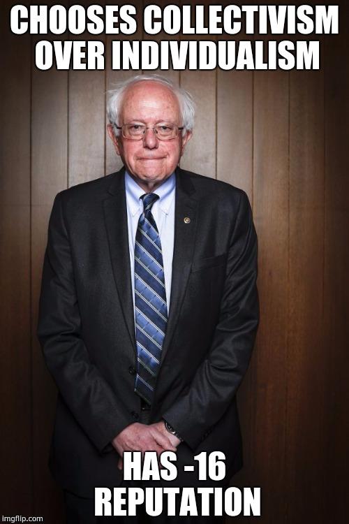 Bernie Sanders Standing Imgflip