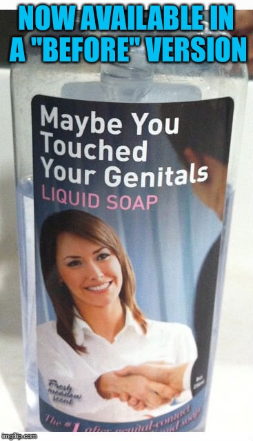 "NOW AVAILABLE IN A ""BEFORE"" VERSION 