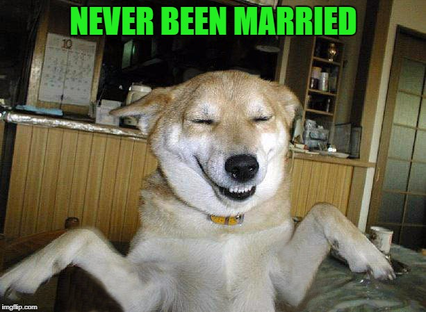 NEVER BEEN MARRIED | made w/ Imgflip meme maker