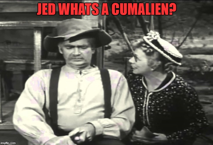 JED WHATS A CUMALIEN? | made w/ Imgflip meme maker
