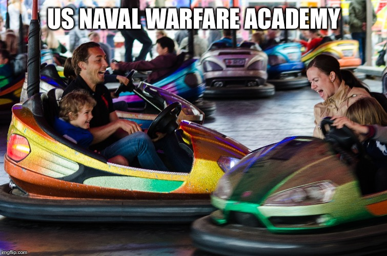 Navy practice | US NAVAL WARFARE ACADEMY | image tagged in navy,funny,lindleyricky,instagram | made w/ Imgflip meme maker