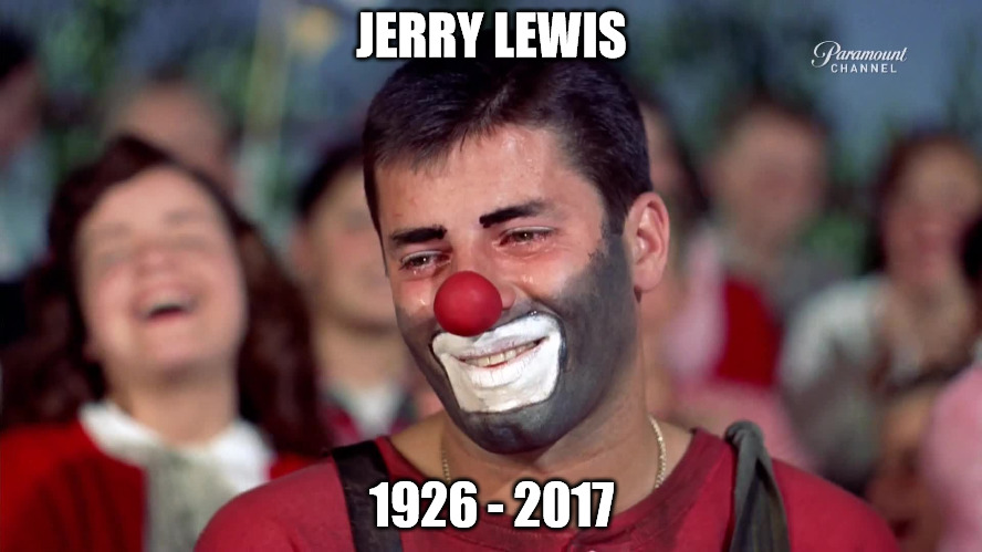 He brought laughter and inspiration to millions |  JERRY LEWIS; 1926 - 2017 | image tagged in jerry lewis,rip | made w/ Imgflip meme maker