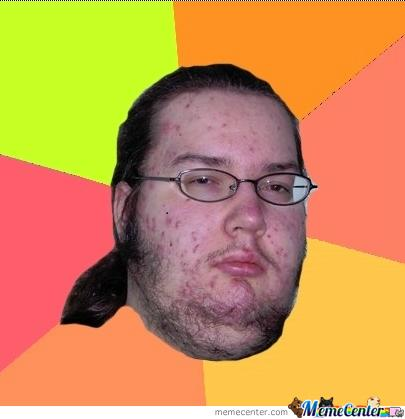 nerdy guy with glasses meme
