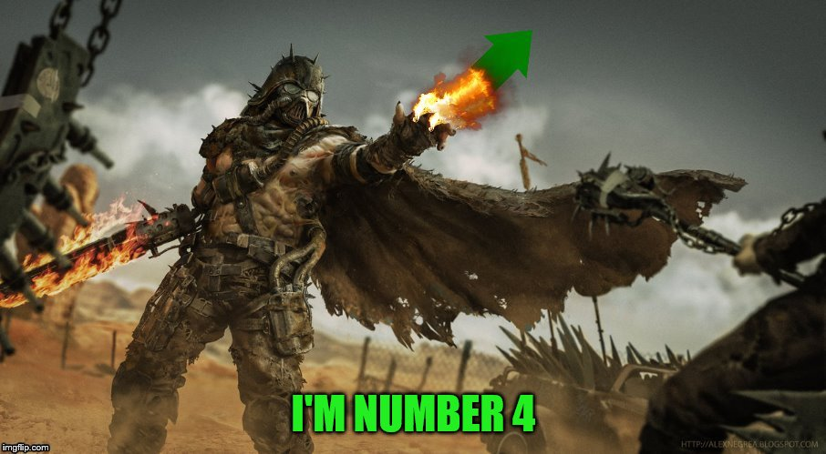 I'M NUMBER 4 | made w/ Imgflip meme maker