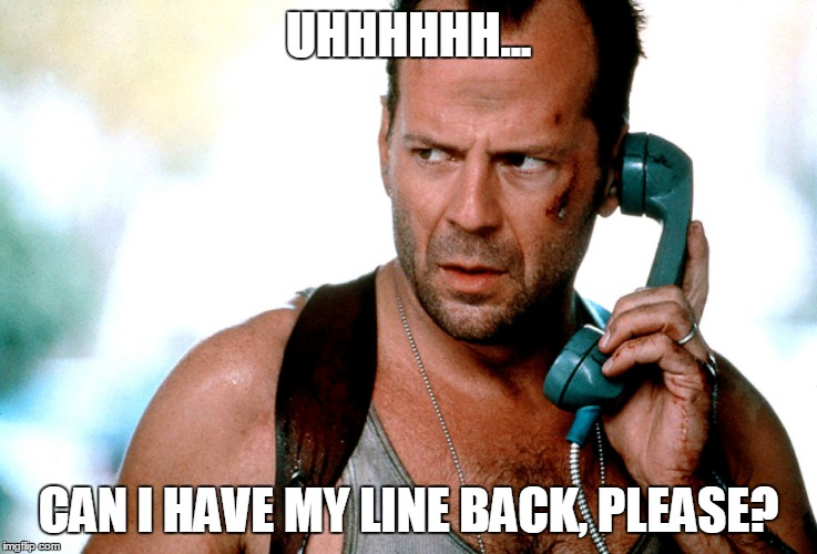 UHHHHHH... CAN I HAVE MY LINE BACK, PLEASE? | made w/ Imgflip meme maker