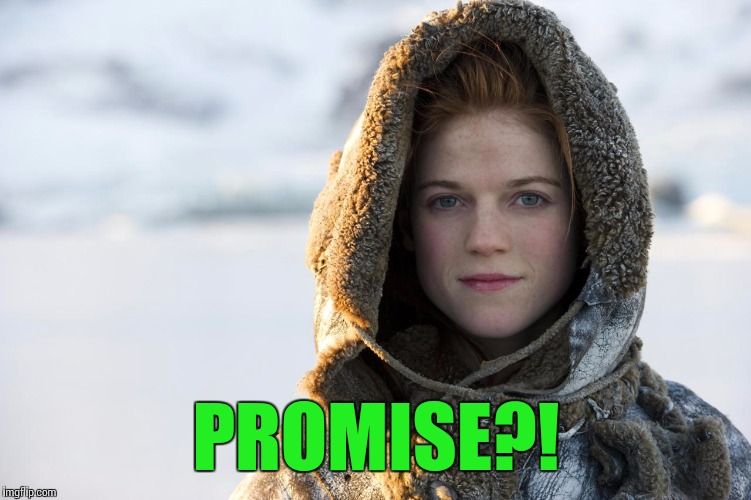 PROMISE?! | made w/ Imgflip meme maker