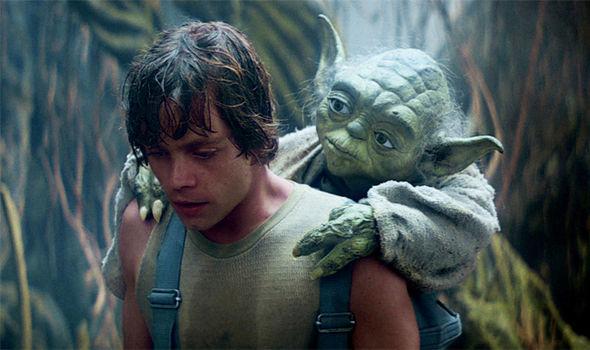 Luke Yoda Dagobah backpack Blank Template - Imgflip