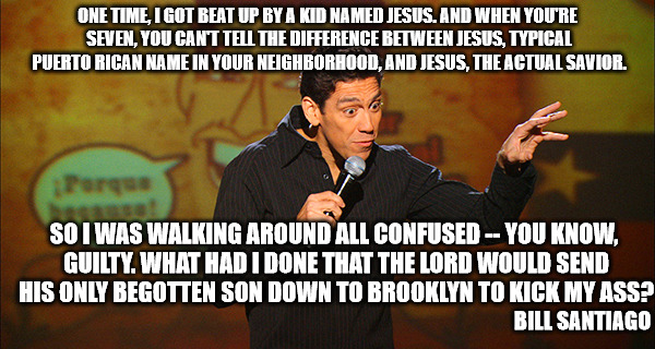 "All I could think was Bea  Arthur saying, ""God's going to get you for that."" 