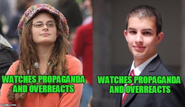 "just stop watching propaganda ""news"". 