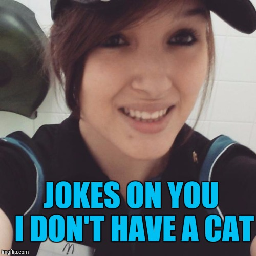 JOKES ON YOU I DON'T HAVE A CAT | made w/ Imgflip meme maker