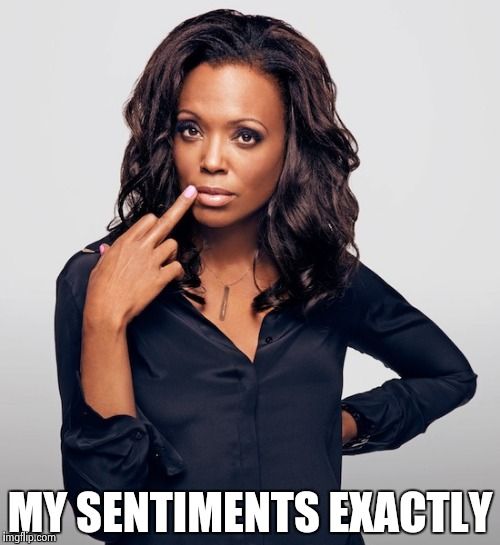 Aisha Tyler  | MY SENTIMENTS EXACTLY | image tagged in aisha tyler | made w/ Imgflip meme maker
