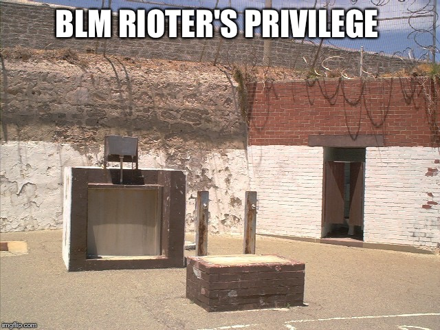 BLM RIOTER'S PRIVILEGE | made w/ Imgflip meme maker