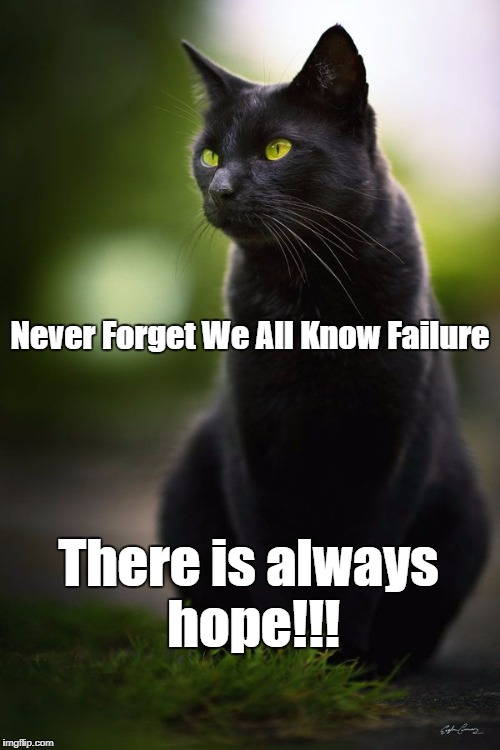 Hope leads us beyond failure. | Never Forget We All Know Failure There is always hope!!! | image tagged in dashhopes | made w/ Imgflip meme maker
