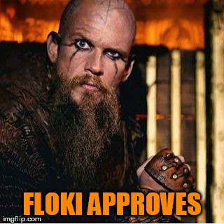 FLOKI APPROVES | made w/ Imgflip meme maker