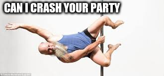 CAN I CRASH YOUR PARTY | made w/ Imgflip meme maker