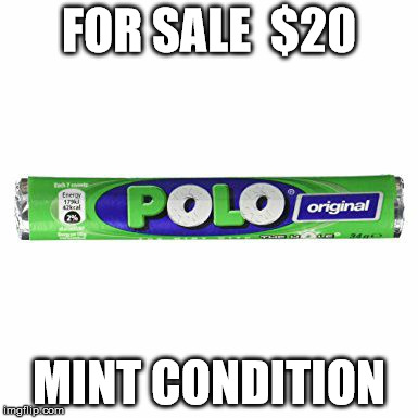 Hit the sweet spot | FOR SALE  $20 MINT CONDITION | image tagged in memes,thin mints | made w/ Imgflip meme maker