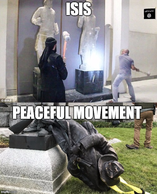 ISIS PEACEFUL MOVEMENT | image tagged in hypocrisy | made w/ Imgflip meme maker