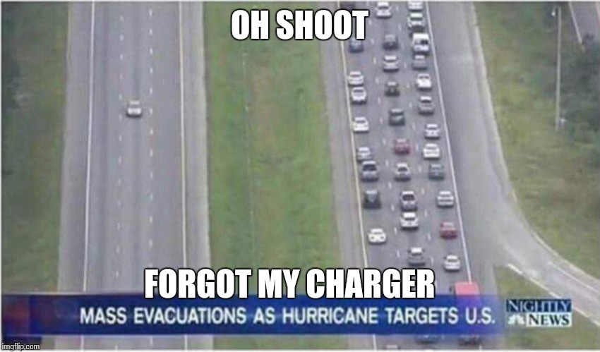 This would be me.. | OH SHOOT FORGOT MY CHARGER | image tagged in memes | made w/ Imgflip meme maker