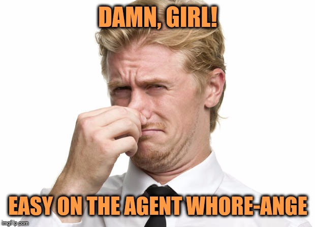 DAMN, GIRL! EASY ON THE AGENT W**RE-ANGE | made w/ Imgflip meme maker