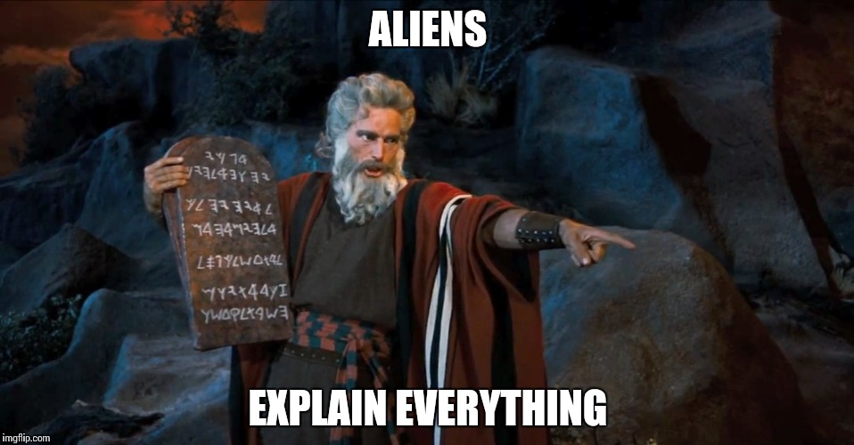 RTFM | ALIENS EXPLAIN EVERYTHING | image tagged in rtfm | made w/ Imgflip meme maker