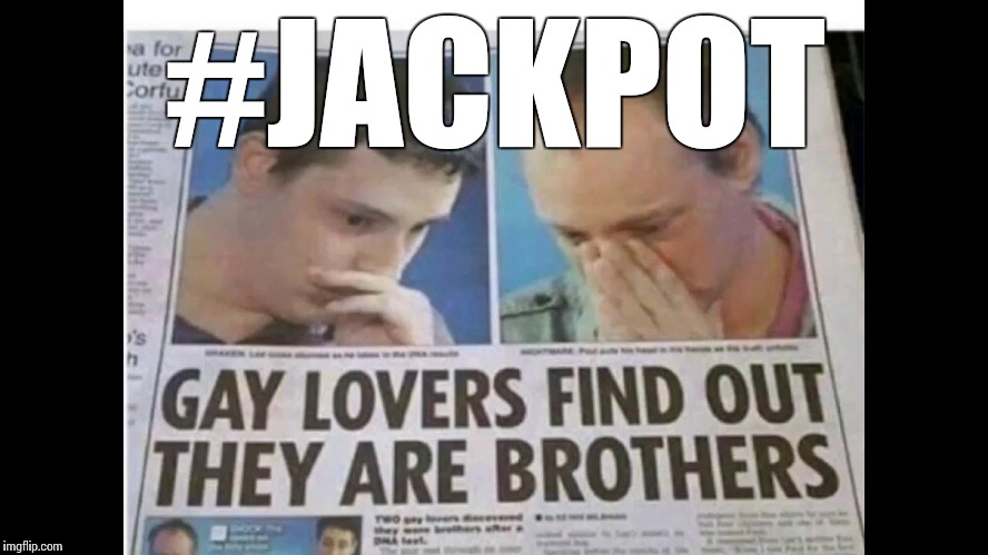 That moment you hit the LGBT jackpot… | #JACKPOT | image tagged in memes,funny,lgbt | made w/ Imgflip meme maker